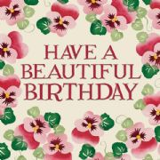 Emma Bridgewater Have a Beautifful Birthday Card